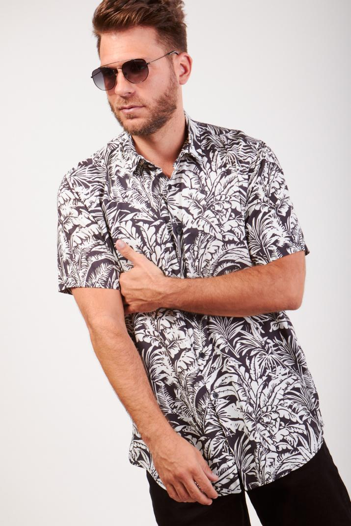 Camisa Paradise estampada Modern fit