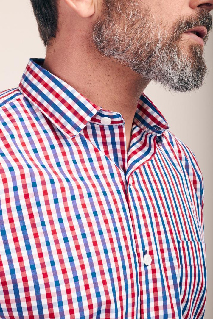 Camisa Súper Penn Business escocesa Classic fit