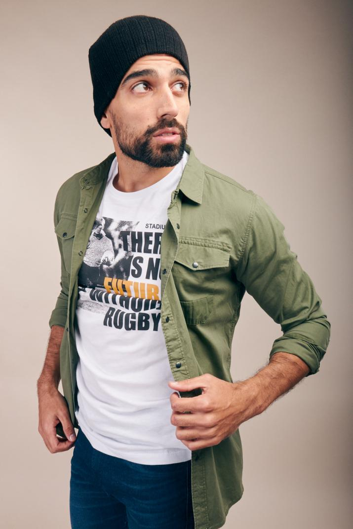 Camisa Ristar de gabardina Modern fit