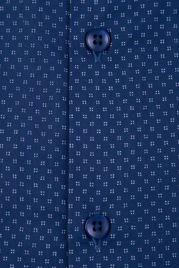Camisa Súper Penn Business estampada de algodón Classic fit