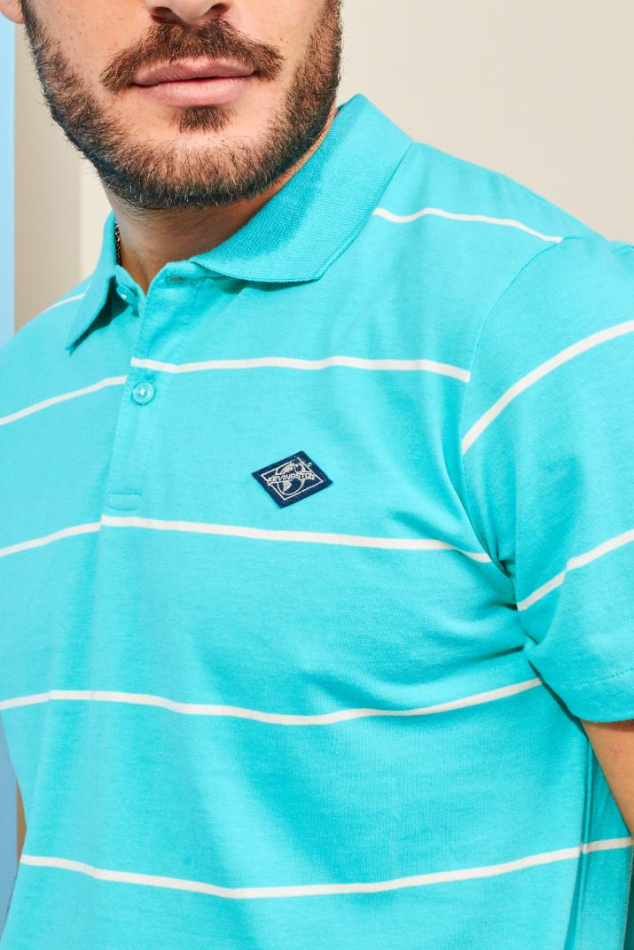 Chomba Arashi de jersey rayada Modern fit