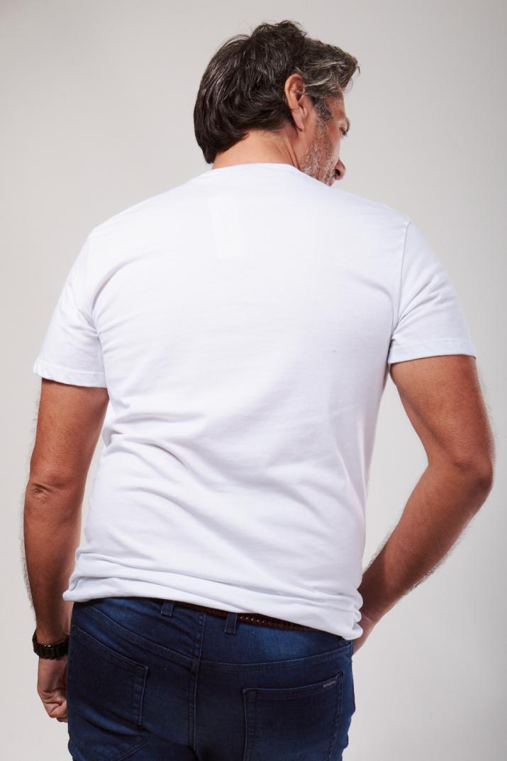 Remera Estampada de algodón Classic fit