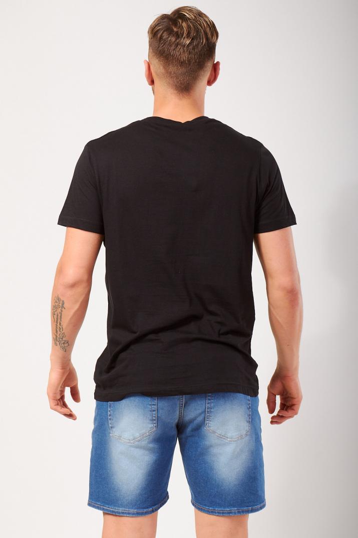 Remera Desh de algodón estampada Slim fit