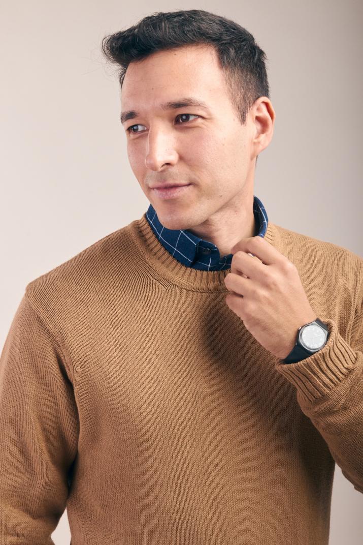 Sweater Fulham de hilo Classic fit
