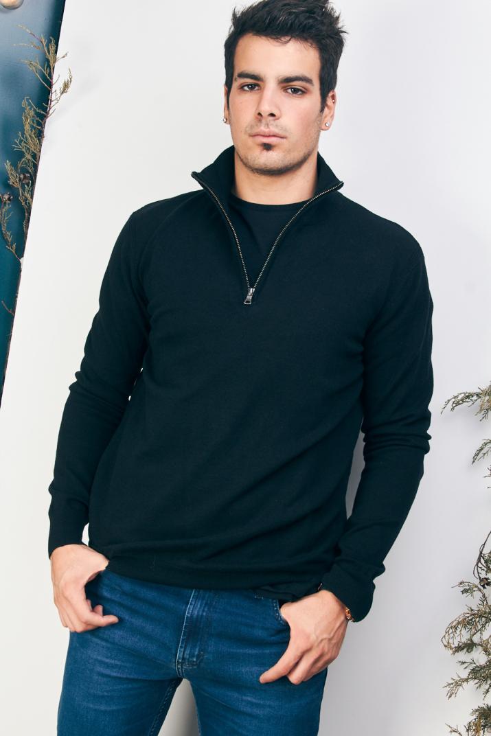 Sweater Donovan 1/2 cierre Modern fit