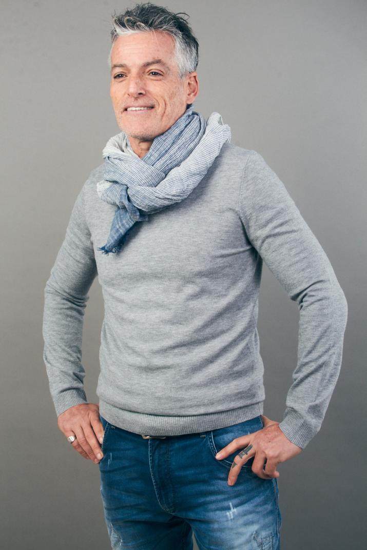 Sweater Dass con escote redondo Classic fit
