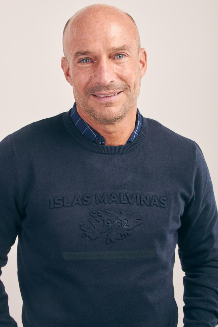 Sweater Tech Malvinas Modern fit