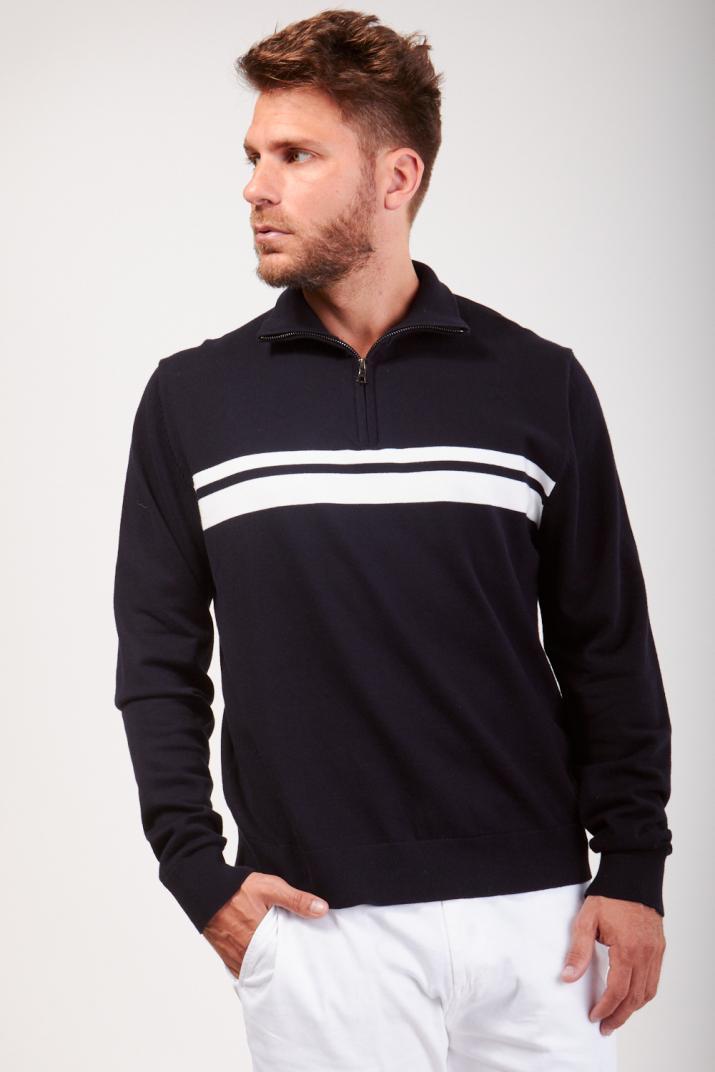 Sweater Harold 1/2 cierre Classic fit