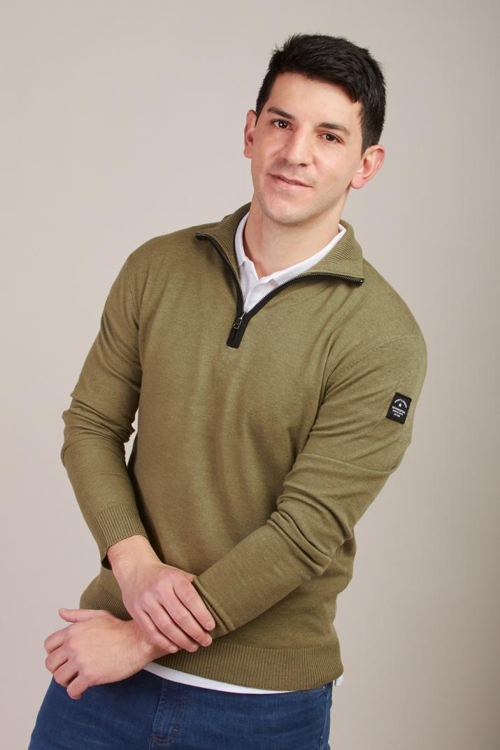 Sweater Hannover 1/2 cierre Classic fit