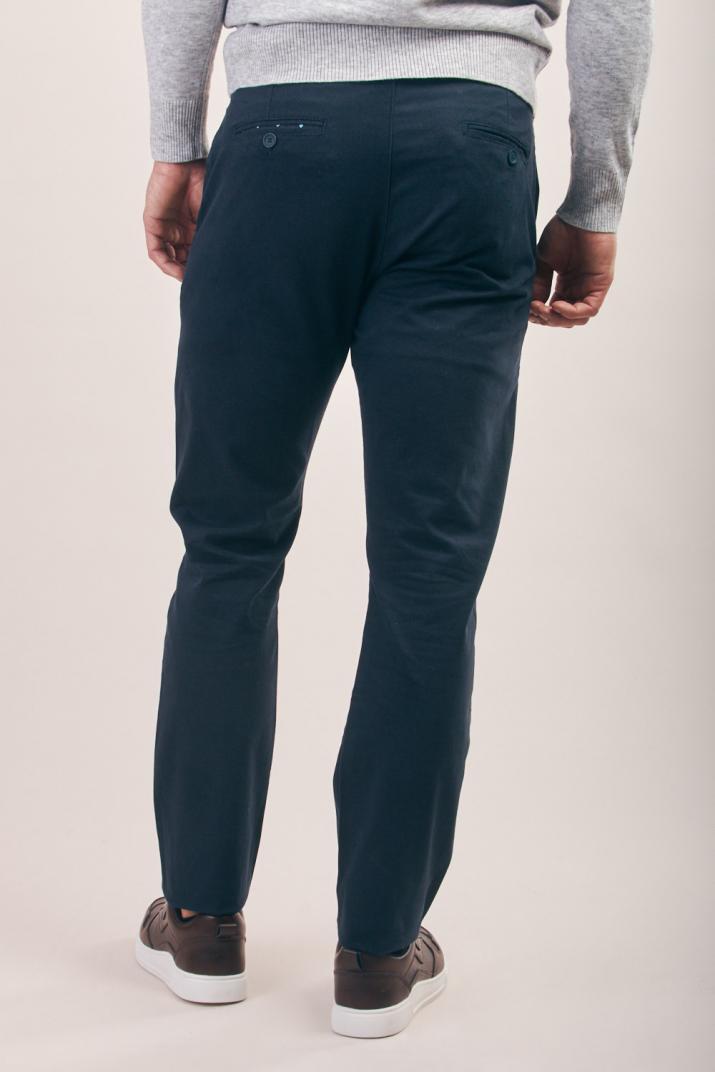 Pantalón Lambert de gabardina Classic fit