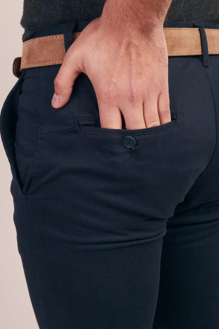 Pantalón Balmore de gabardina Modern fit