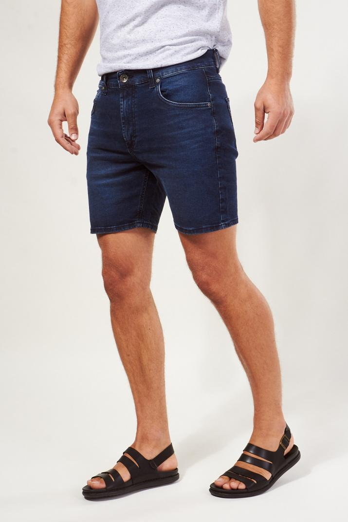 Bermuda New Classic Jean elastizada Classic fit