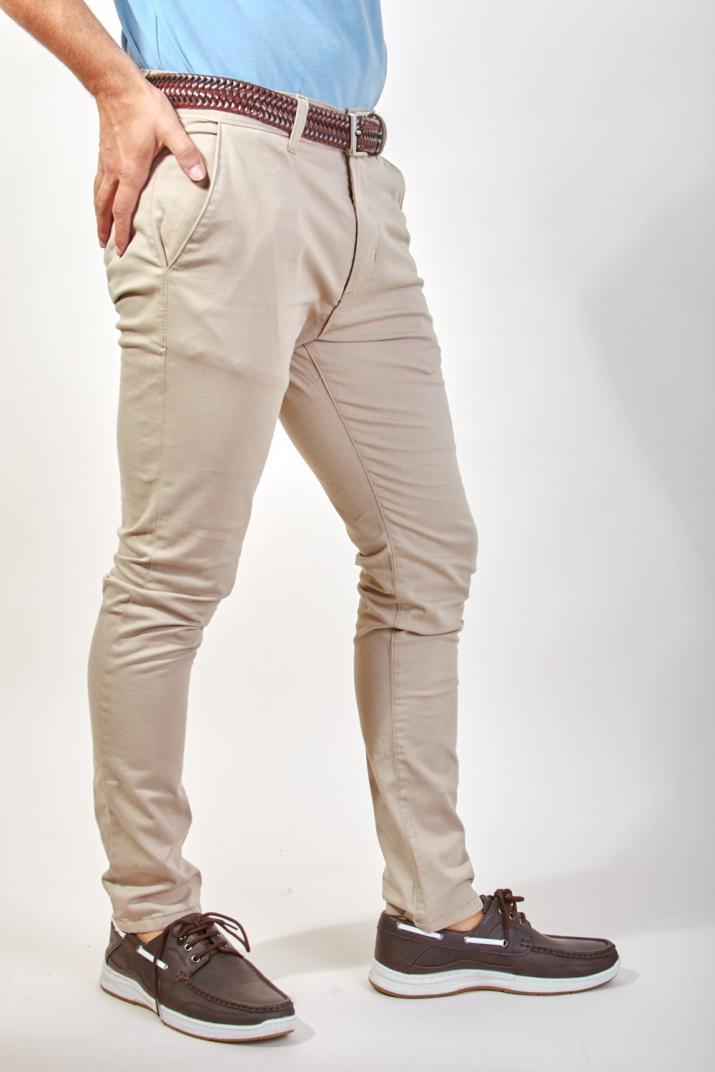 Pantalón Crawton de gabardina Modern fit