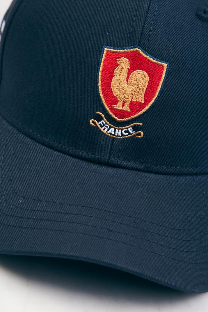 Cap Symbol Rugby de gabardina con bordado