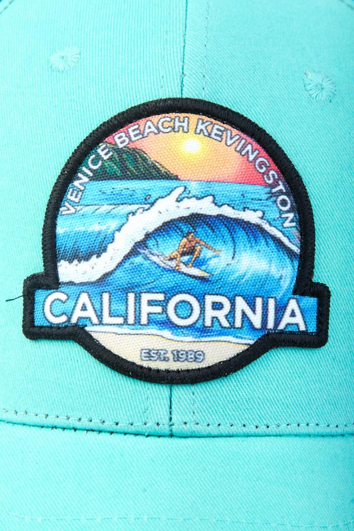 Gorra Surf California gabardina de algodón