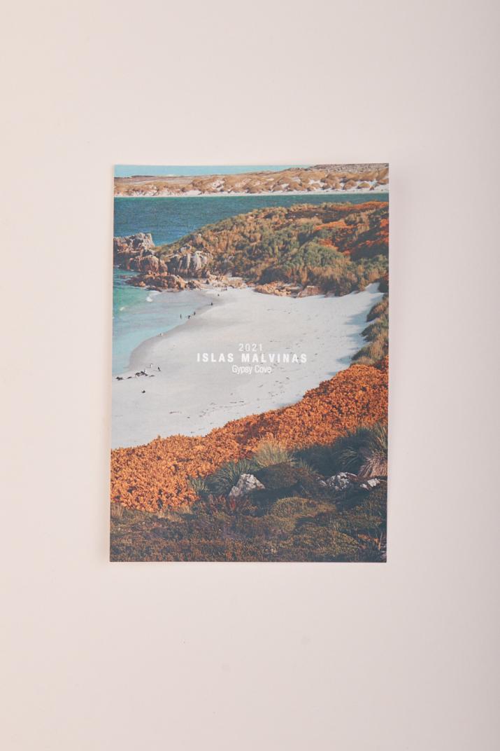 Postal Islas Malvinas Gypsy Cove