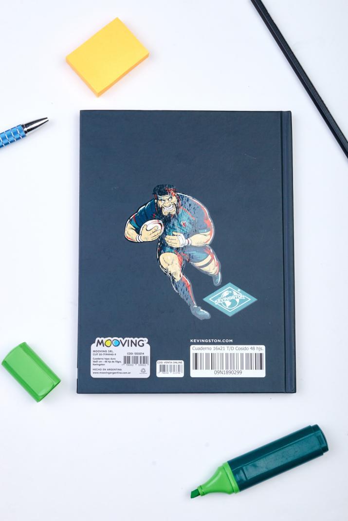 Cuaderno Cosido Kevingston 16X21
