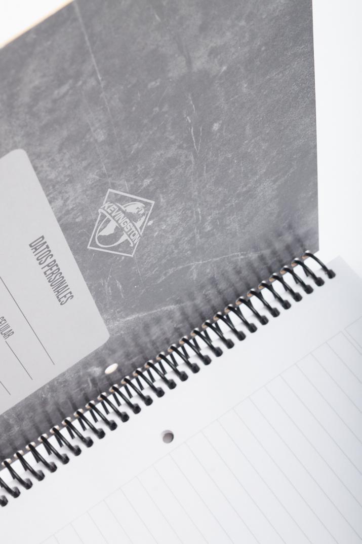 Cuaderno Universitario Kevingston hojas rayadas