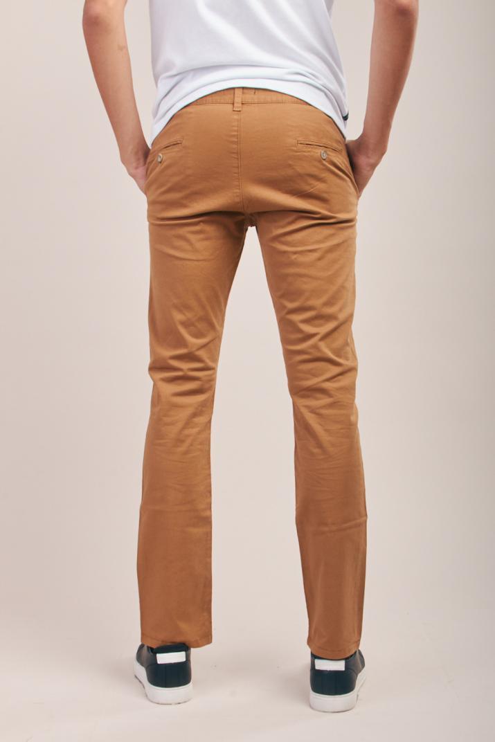 Pantalón Krim Pinzado de gabardina Modern fit