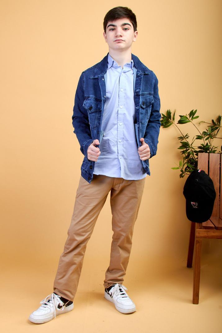 Campera Ryde jean