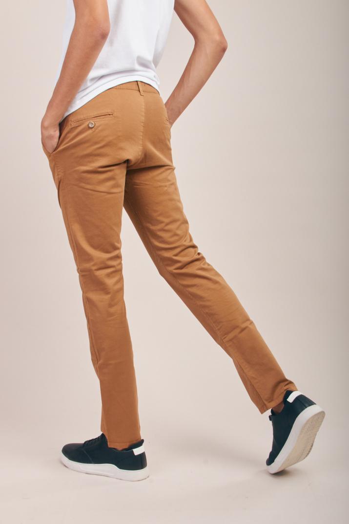 Pantalón Krim Pinzado de gabardina