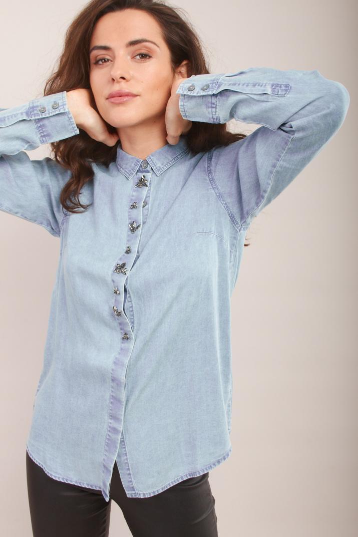 Camisa Dublin manga larga