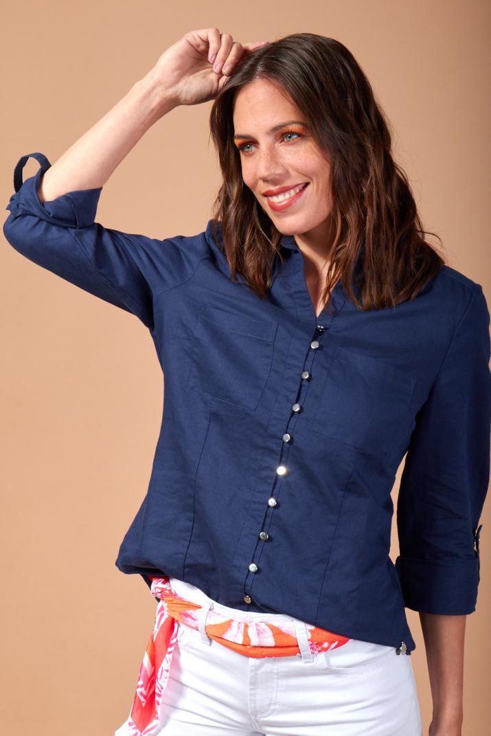 Camisola Mercury manga larga con bolsillos
