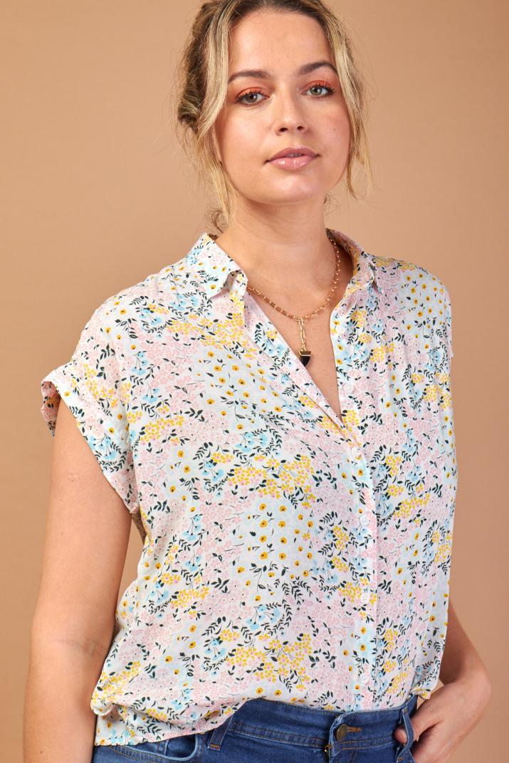 Camisa Sunny estampada