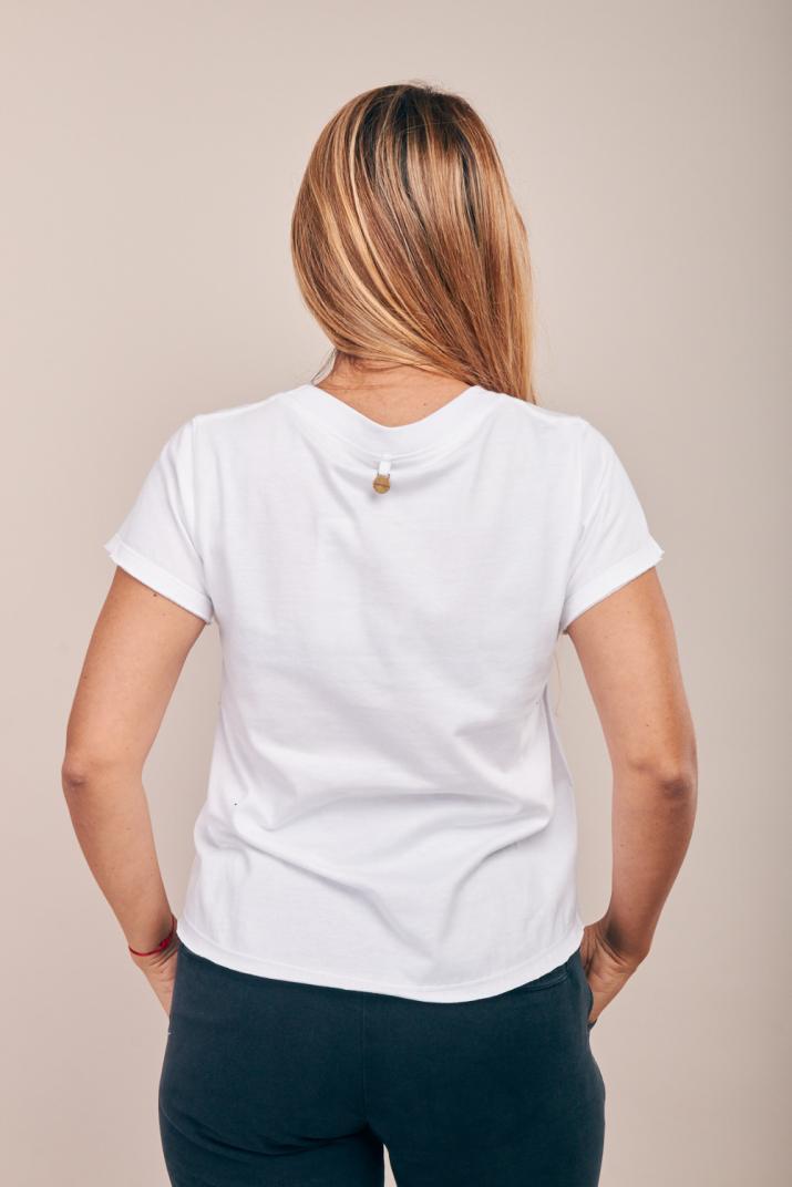 Remera Brela de algodón con estampa