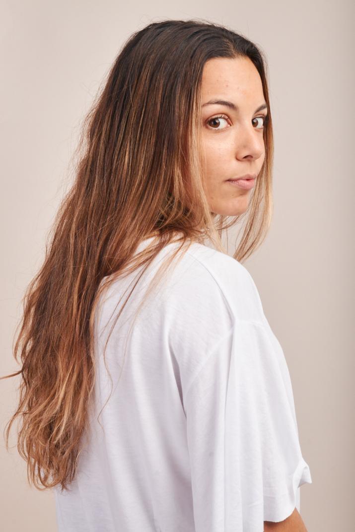 Remera Blair con cuello redondo