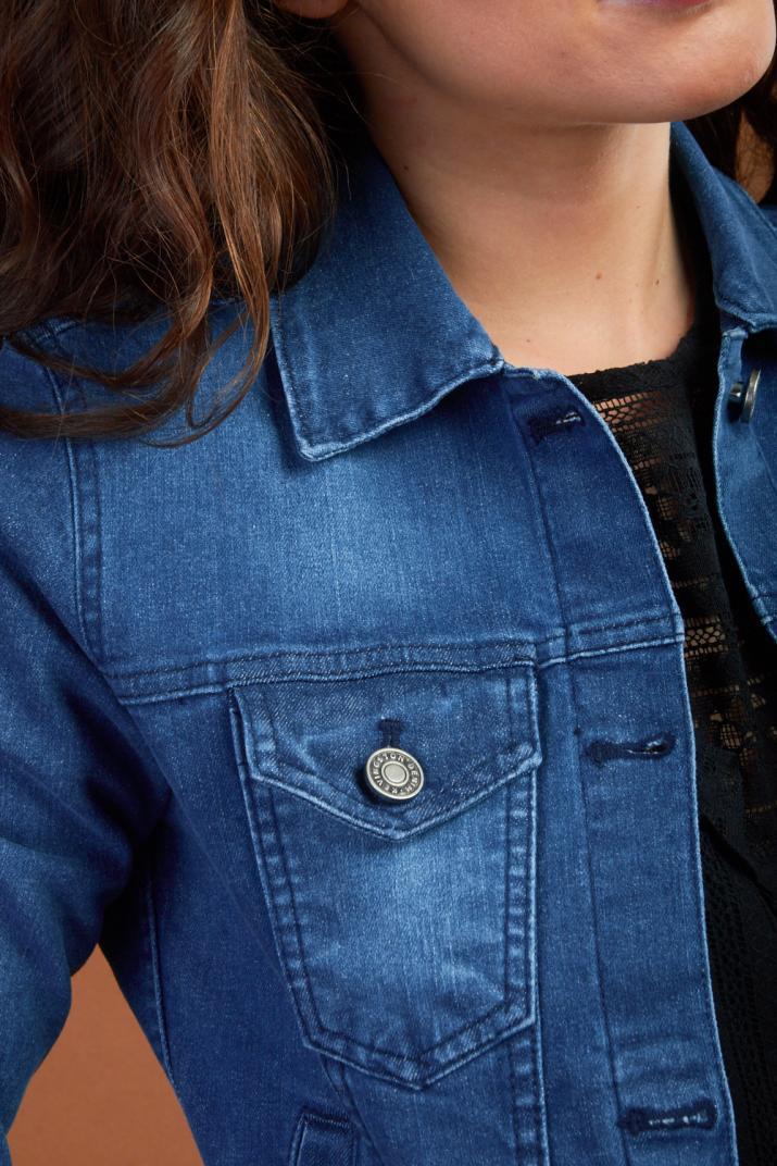 Campera Malasi II de jean elastizada