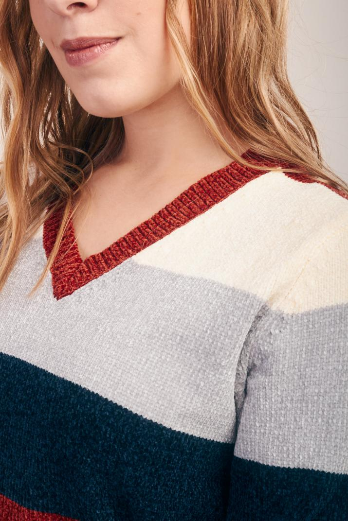 Sweater Janis con escote en V
