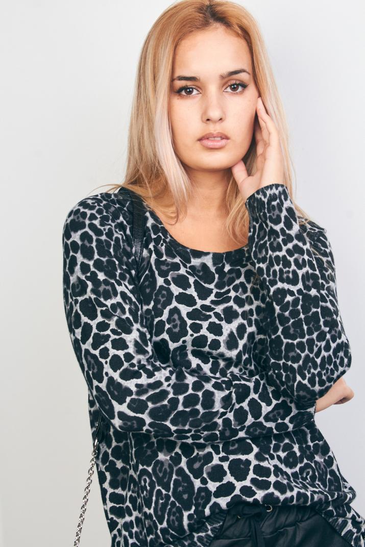 Sweater Zimbabwe animal print