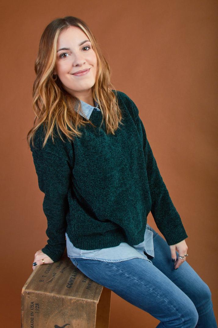 Sweater Hayley chenille