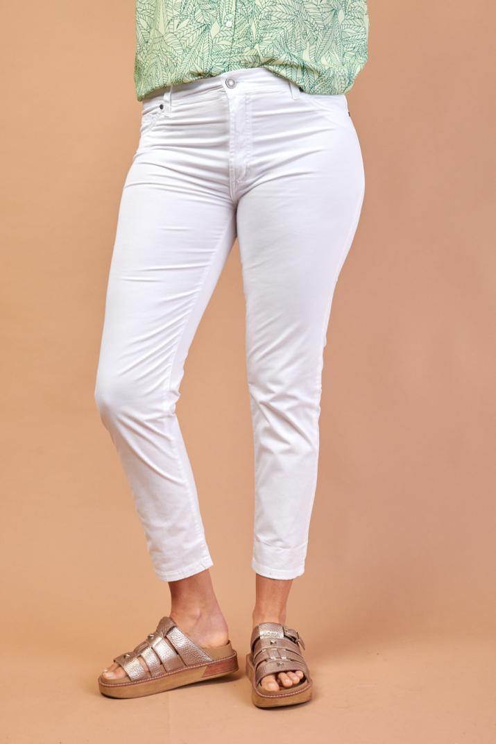 Pantalón Charlize de gabardina elastizado
