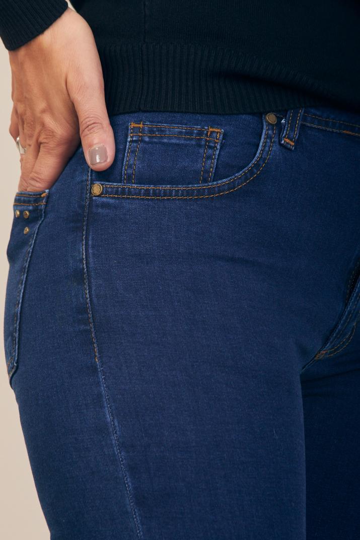 Jean Charlize II tiro alto Súper Slim fit