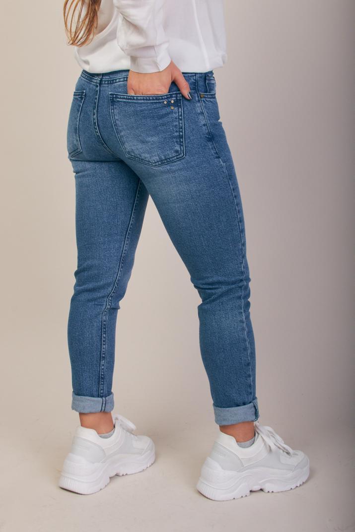 Jean Charlize III tiro alto Súper Slim fit