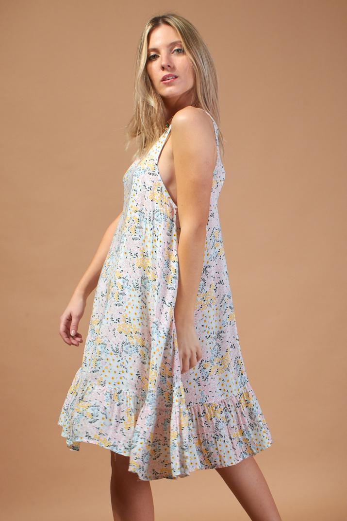 Vestido Ophelia estampado